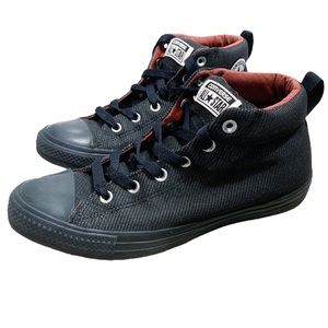 Converse Shoes - Converse All Star CTAS Street Mid Almost Black 9